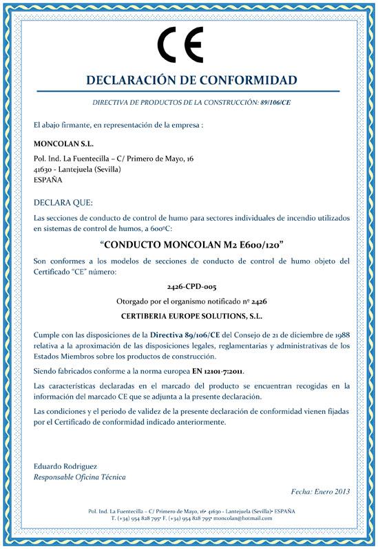 03-DECLARACIÓN-DE-CONFORMIDAD-CE---CONDUCTO-MONCOLAN-M2-E600-120